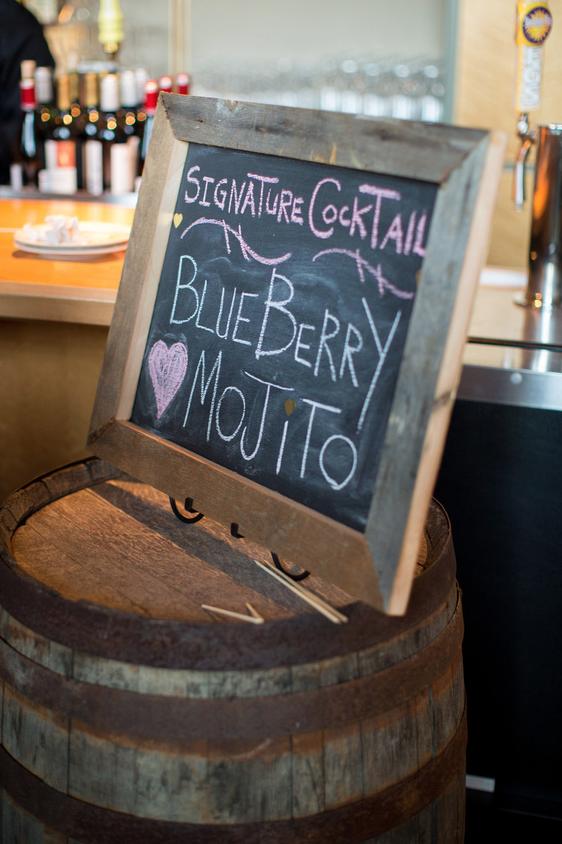 Wedding Wine Barrel Decor