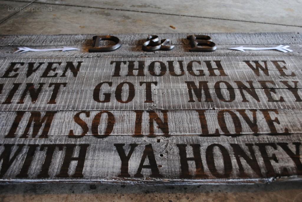 DIY Rustic Sign