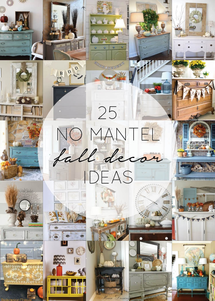 Astonishing 25 No Mantel Fall Decor Ideas Brepurposed Download Free Architecture Designs Scobabritishbridgeorg