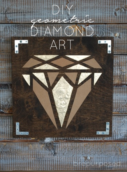 DIY Geometric Diamond Art