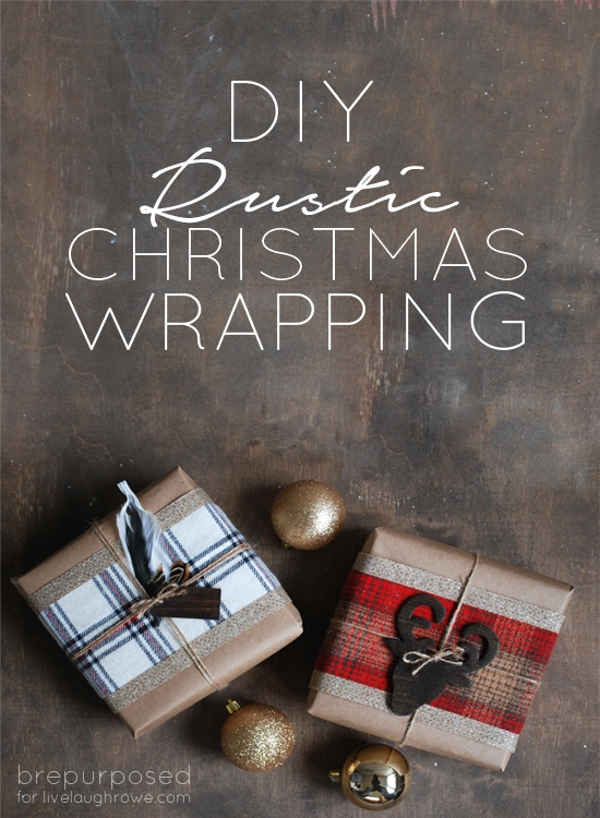 DIY Rustic Christmas Wrapping