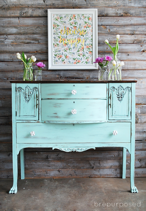 10 Fabulous Furniture Makeover by Brepurposed