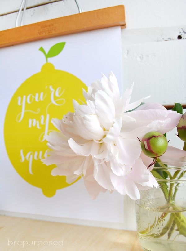 You're My Main Squeeze Free Printable