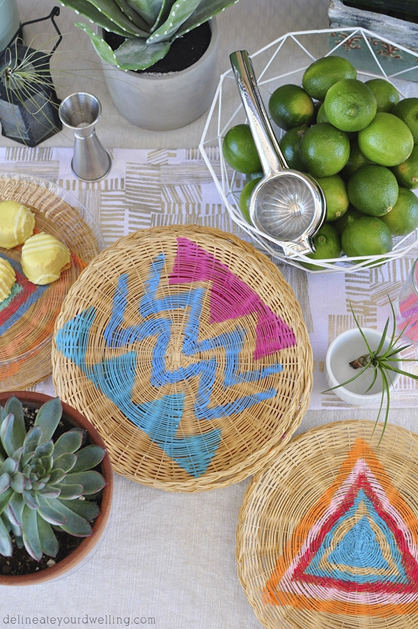 Bohemian Charger Plates