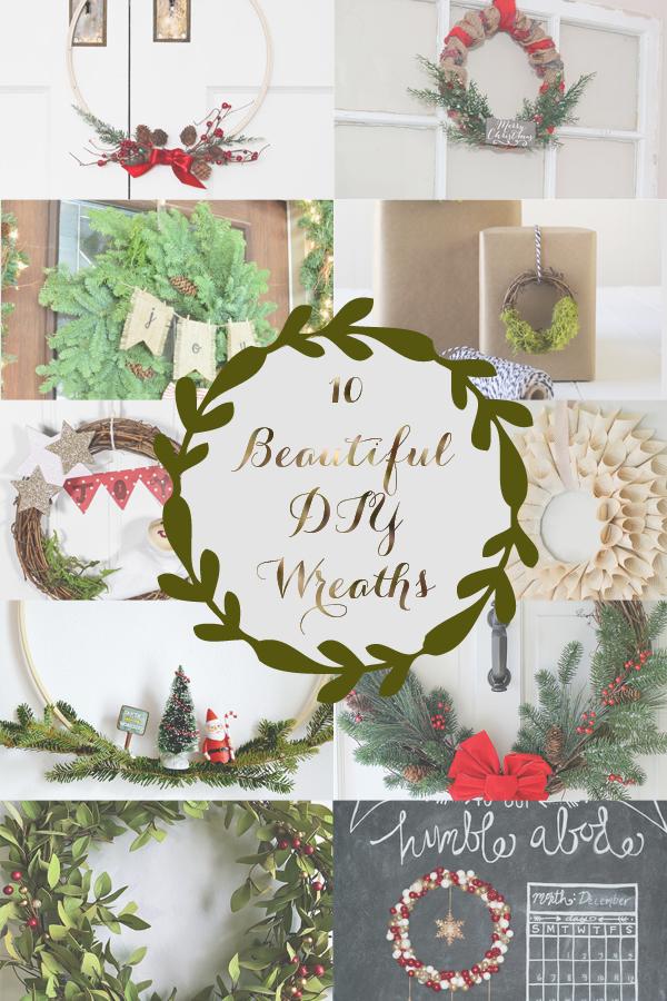 10 Holiday DIY Wreaths